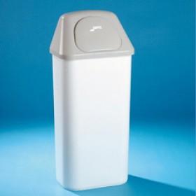 Papelera plástico cabezal / tapa 50 l