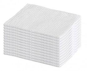 Bayeta rejilla blanca 38x34 cms.
