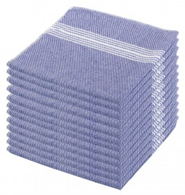 Paños listas azul 48x40 cms.