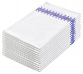 Paños cocina algodón blanco 70x45 cms.