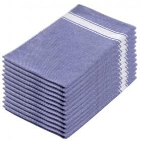 Paños cocina algodón azul 70x45 cms.