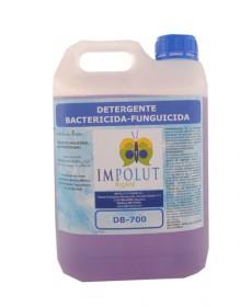 Detergente bacterizida funguicida