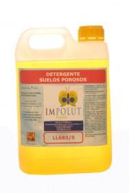 Detergente suelo poroso