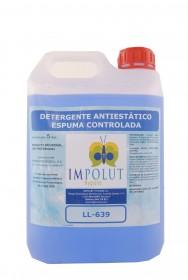 Detergente suelo antiestático espuma controlada