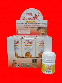 Tratamiento Madera anti insectos Red Demon 100ml