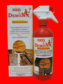 Tratamiento Madera anti insectos Red Demon 500ml